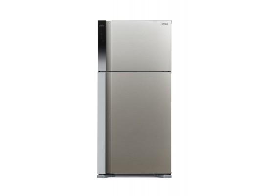 Hitachi 27 CFT Top Mount Refrigerator (R-V760PK7K) - Silver
