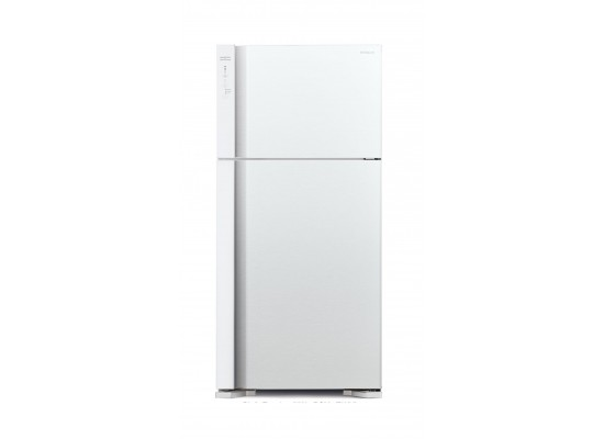 Hitachi 27 CFT Top Mount Refrigerator (R-V760PK7K) - White