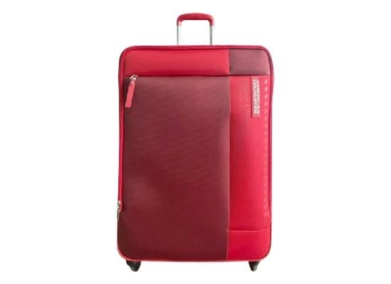 American Tourister Art Marina 57 CM Soft Luggage - Red