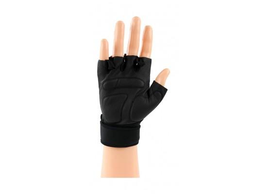 Reebok Large Lifting Gloves (RAGB-11234BK) - Red
