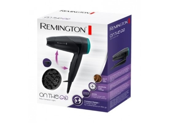 Remington 2000W Folding Travel Hairdryer