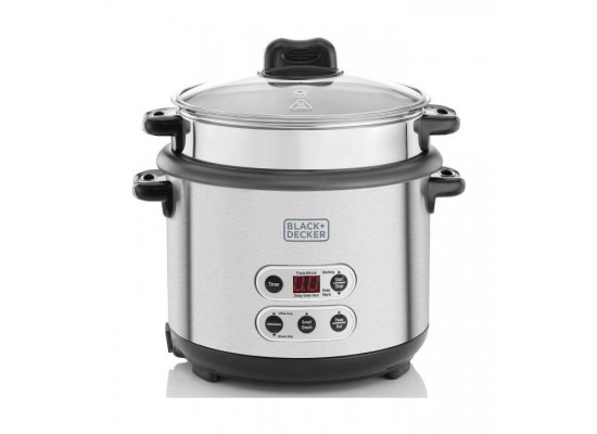 Black+Decker 1.8 L Rice and Pasta Cooker (RPC1800-B5)