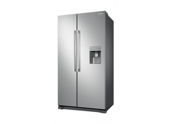 Samsung Side By Side 20 CFT Refrigerator (RS52N3303SA) - Silver