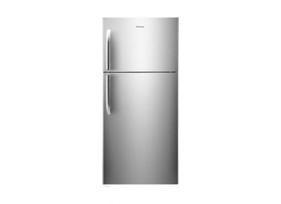 Hisense 14 CFT Top Mount Refrigerator (RT419N4DGN) - Silver