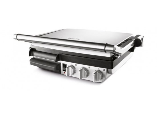 Breville 2400W Die Cast Indoor BBQ And Grill (800GREX) – Black / Silver
