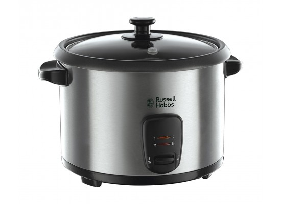 Russell Hobbs 1.8 L Rice Cooker and Steamer (19750) - Silver