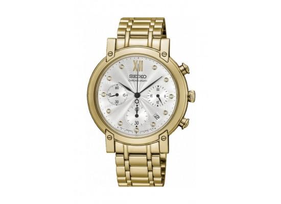 Seiko Watch 35mm Chronograph Quartz Ladies Metal Watch - RW836P