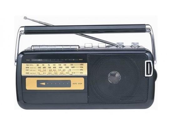 Panasonic Radio Cassette Recorder (RX-M50M3GX1K) – Black