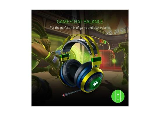Razer Nari Ultimate Overwatch Lucio Edition Wireless Gaming Headphone