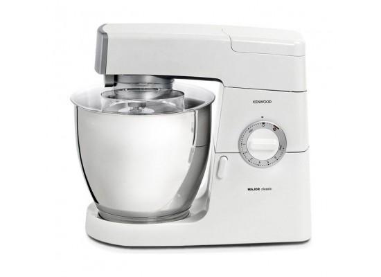 Kenwood 900W 6.7L Classic Major Kitchen Machine (KM636/002) - White With Silver Trim