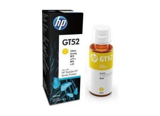 HP GT52 Original Ink Bottle For DeskJet GT Series Printers – Yellow