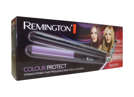 Remington Color Protect Hair Straightener (S6300) - Black