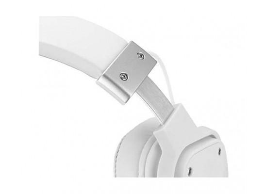 EQ Sades Snowwolf Gaming Headset (SA-722S) - White