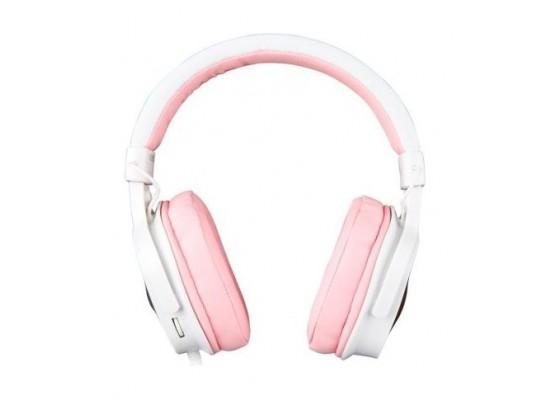 Sades Dpower Gaming Headset - Pink 2