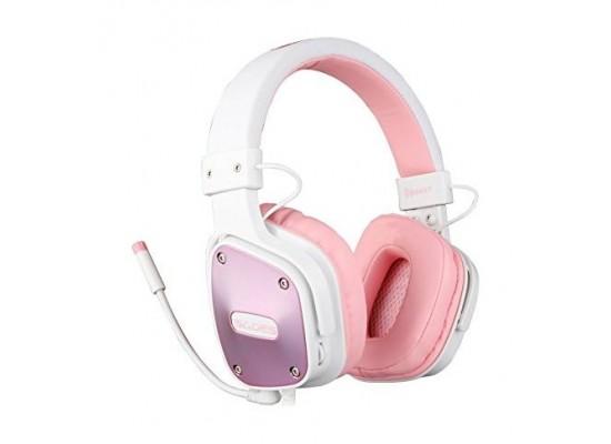 Sades Dpower Gaming Headset - Pink 6