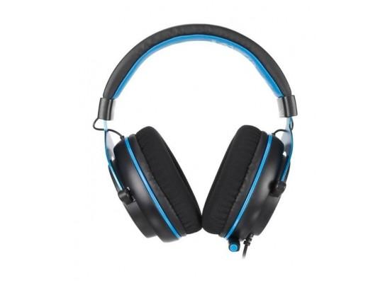 Sades Mpower Gaming Headset - Black/Blue