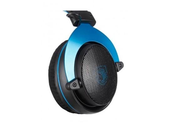 Sades Mpower Gaming Headset - Black/Blue 2