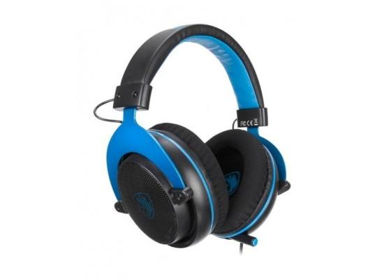 Sades Mpower Gaming Headset - Black/Blue 3