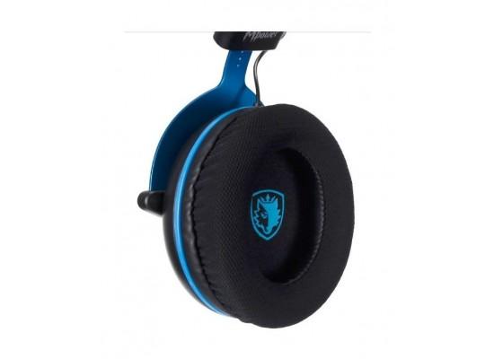 Sades Mpower Gaming Headset - Black/Blue 4