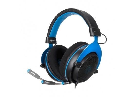 Sades Mpower Gaming Headset - Black/Blue 6