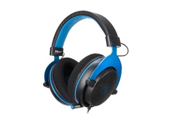 Sades Mpower Gaming Headset - Black/Blue 7