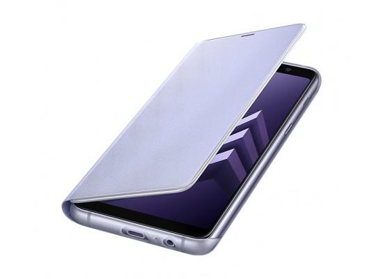 check out c92fa 56dbd Samsung Galaxy A8+ Neon Flip Cover (EF-FA730PVEGWW) - Orchid Grey