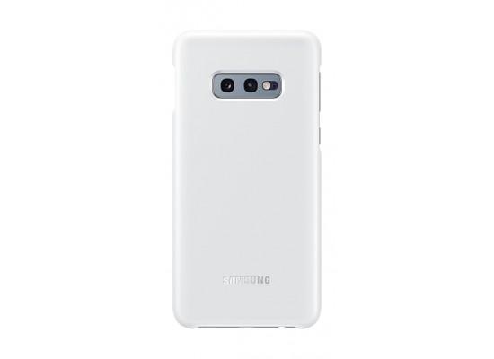 Samsung Galaxy S10 Lite LED Back Case (EF-KG970CWEGWW) - White