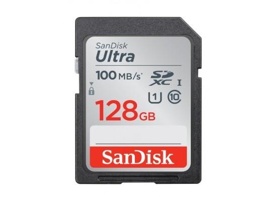 SanDisk 128GB Ultra SDHC UHS-I Memory Card - (SDSDUNR-128G-GN6IN)