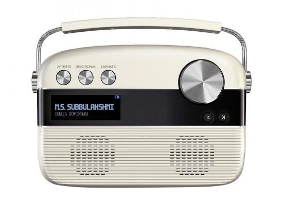 Saregama Carvaan Tamil SC03 Portable Digital Music Player - Porcelain White