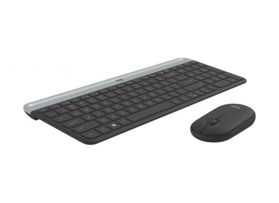 Logitech MK470 Slim Wireless Keyboard & Mouse Combo - (920-009204)