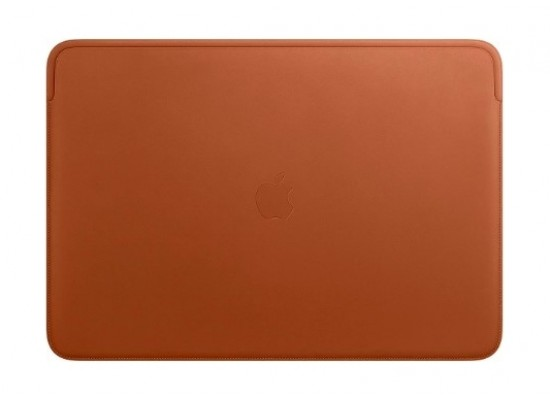 Apple 16‑inch MacBook Pro Leather Sleeve - Brown