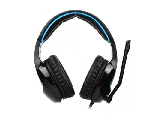 Sades Wand Wired Gaming Headset - Black
