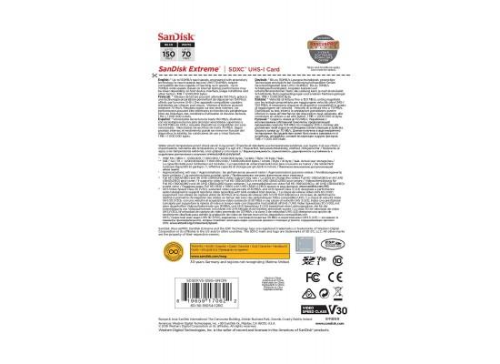 SanDisk 128GB Extreme SDXC UHS-I Memory Card