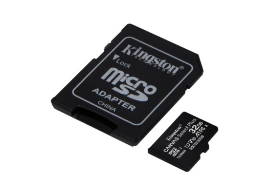 Kingston Canvas Select Plus 32GB MicroSDXC Card in Kuwait | Buy Online – Xcite
