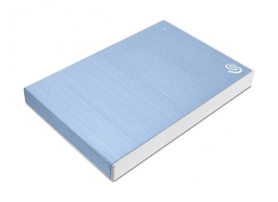 Seagate 2TB Backup Plus Slim USB 3.0 External Hard Drive - Blue