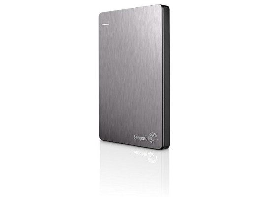 Seagate Back Up Plus 1TB Portable Hard Drive (STDR5000201) - Silver
