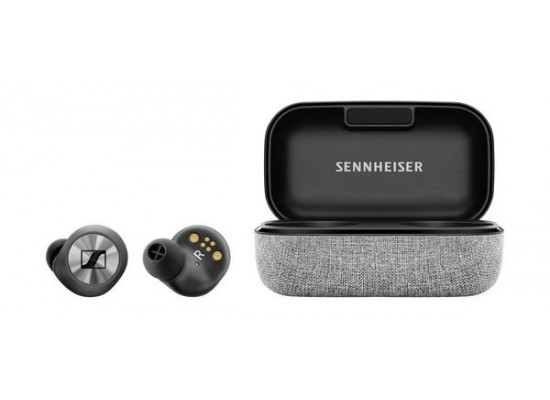 Sennheiser MOMENTUM True Wireless Bluetooth In-Ear Headphones - Silver 1