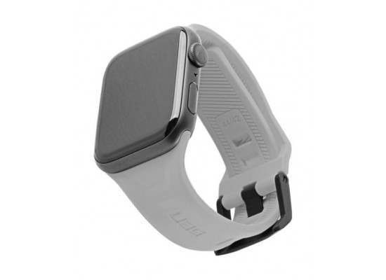 UAG Apple Watch Scout 44mm Silicon Strap - Silver