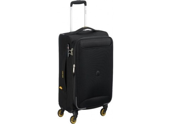 Delsey Chartreuse 61CM Soft Luggage - Black