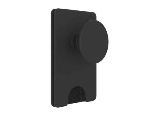 PopWallet+ Removable Card Holder for Smartphones – Black (801937)