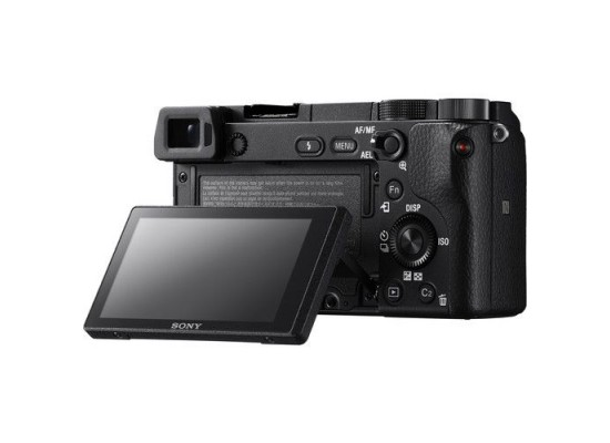 Sony Alpha A6300 Mirrorless Camera With 18-135mm Lens - Black