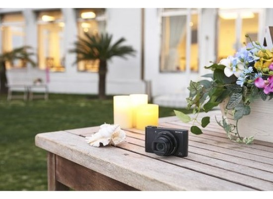 Sony Cyber-shot DSC-WX500 Digital Camera - Black