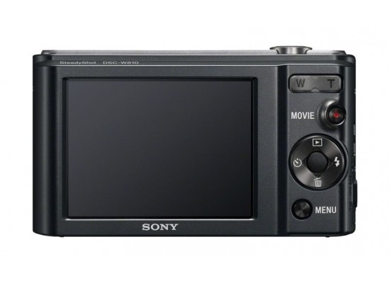 Sony Cyber-Shot DSC-W810 Compact Camera - Black