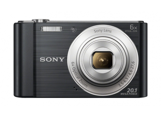 Sony Cyber-Shot DSC-W810 Compact Camera - Black
