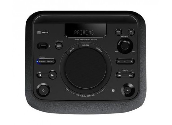 Sony MHC-V11D Bluetooth Potable Audio System - Controls