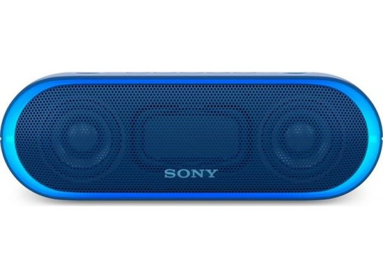Sony Portable Wireless Bluetooth Speaker (SRS-XB20) - Blue