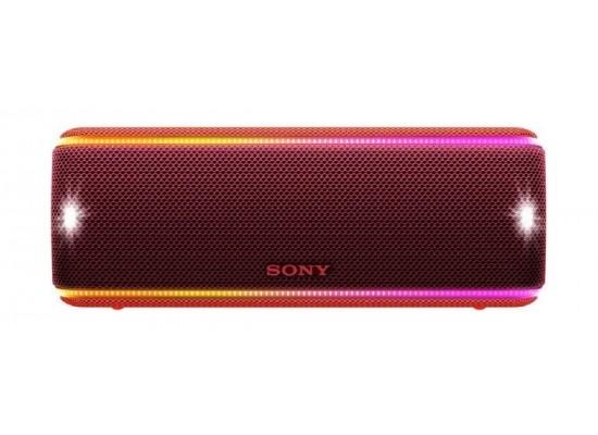 Sony SRS-XB31 Extra Bass Portable Waterproof Wireless Speaker - Red