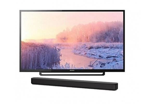 Sony 32 inch HD LED TV + Sony 120W Soundbar (HT-S100F)