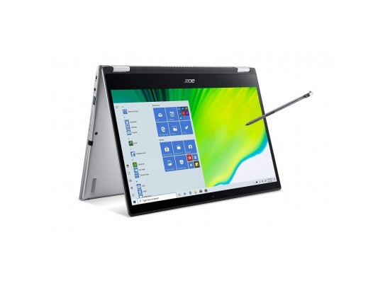 """Acer Spin 3 Core i3, RAM 4GB, 256GB SSD, 14"""" Convertible Laptop - Silver"""