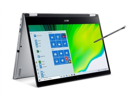 Acer Spin 3 Core i5 16GB RAM 1TB SSD 14-inches convertible Laptop - Silver
